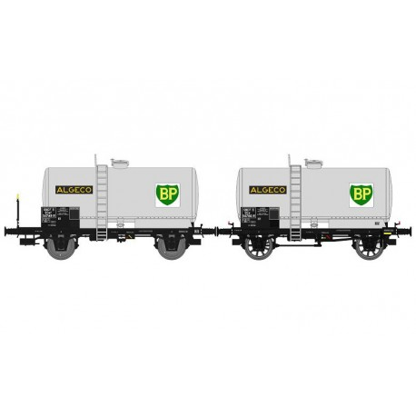 Set de 2 vagones cisterna BP OCEM 29, SNCF.