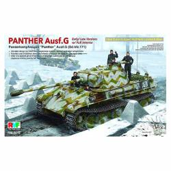 Panther Ausf. G. Interior completo.
