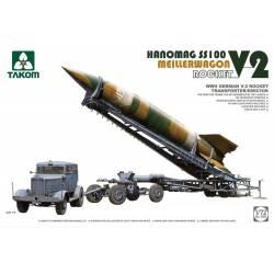 Lanzacohetes alemán V-2.