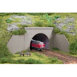 Tunnel portals double track. AUHAGEN 44636