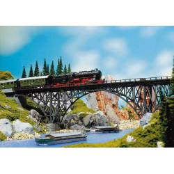 Puente metálico. FALLER 120541