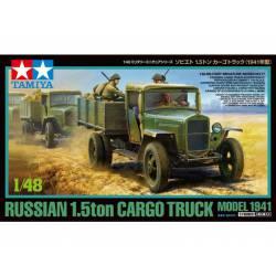 Russian 1.5ton cargo truck, model 1941.