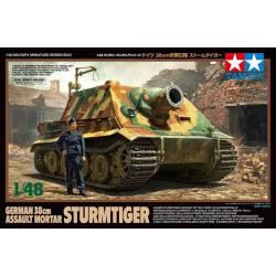 Mortero de asalto alemán Sturmtiger.