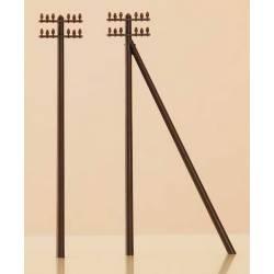 12 telegraph poles. AUHAGEN 44600