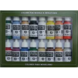 Set colores básicos USA, Model Color.