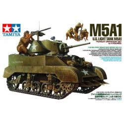 US light tank M5A1.
