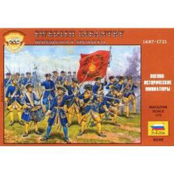 Infantería sueca, Guerras Nórdicas.