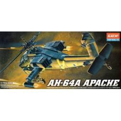 Helicóptero Apache AH-64A.