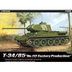 "T34/85 ""112 Factory production""."