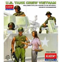 Carristas estadounidenses en Vietnam.