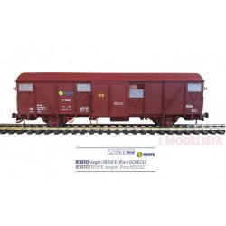 Vagón Jfvce 600032, RENFE.