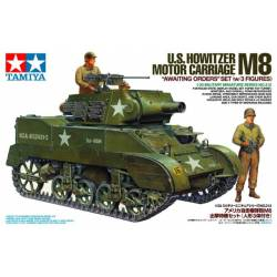 US Howitzer Motor Carriage M8.