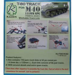Cadenas para M40 T80.
