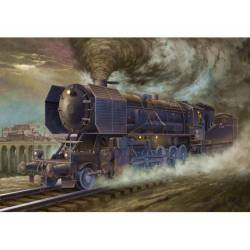 Locomotive BR52.