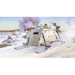 Soviet NKL-26 Armoured Aerosan.
