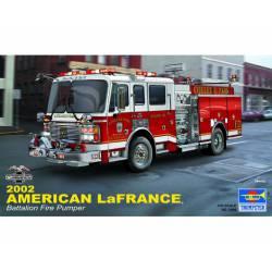 Camión de bomberos LaFrance Eagle.