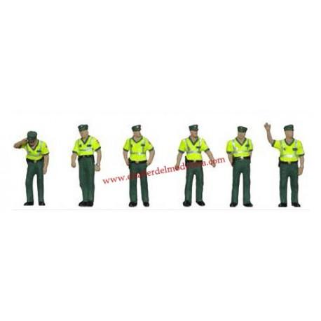Guardias civiles de tráfico. ANESTE 4094