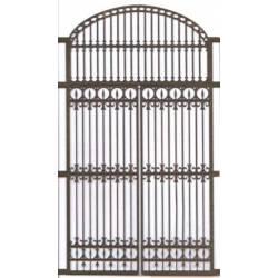 Puerta de doble hoja.