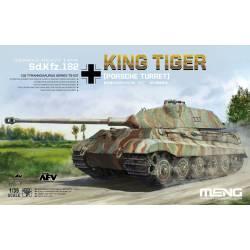 Sd.Kfz.182 King Tiger, Porsche Turret.
