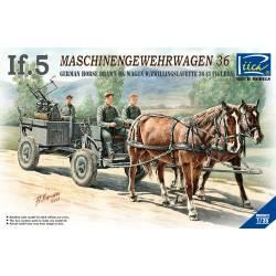 IF-5 alemán tirado por caballos.