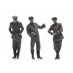 Oficiales alemanes.
