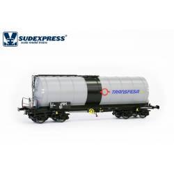 Cisterna tipo Zaes TRANSFESA, metanol.