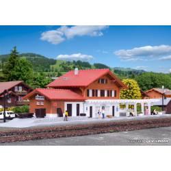 Estación de Schönried.