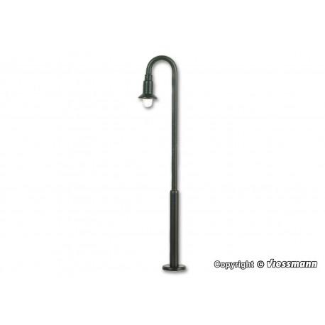 Swan neck lamp.