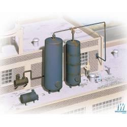 Depósitos de líquido industriales.