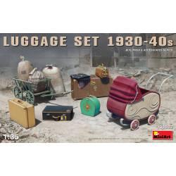 Luggage set 1930-40s.