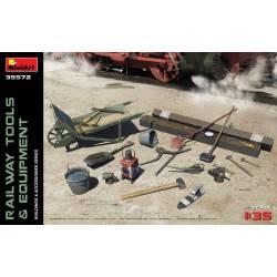 Railway tools and equipment.