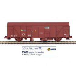 Cleaner wagon J600187, RENFE.