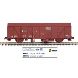 Vagón limpiavías J600187, RENFE.