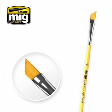 Brush angle rectangular Nº6.