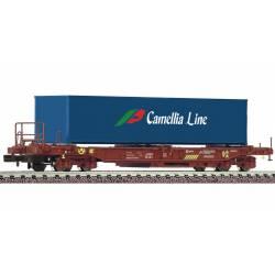"""Standard pocket wagon """"Camellia Line"""", RENFE."""