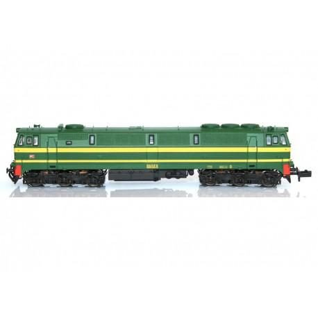 Diesel locomotive 333-037, RENFE.