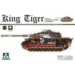 King Tiger con torreta Henschel y Zimmerit.