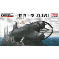 IJN Midget Submarine A-Target Type A ''Pearl Harbor''.