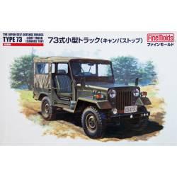 Camión ligero JGSDF tipo 73 w/Canvas Top.