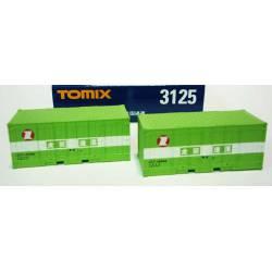 Dos contenedores de carga. TOMIX 031253