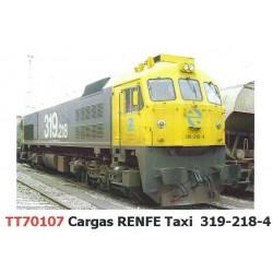 "Diesel locomotive 319-218 ""Taxi"", RENFE."