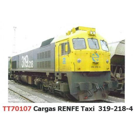 "Locomotora 319-220 ""Estrella"", RENFE."