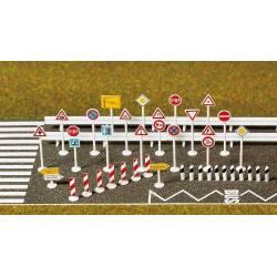 Set de construcción de carreteras. BUSCH 7097
