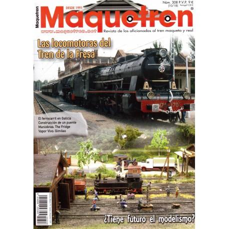 Revista Maquetren, nº 308.