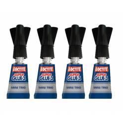Super Glue-3, 4 gr. LOCTITE MINI TRIO