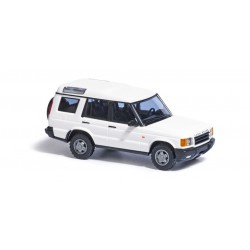 Land Rover Discovery, blanco.