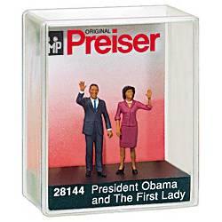 Barack y Michelle Obama. PREISER 28144