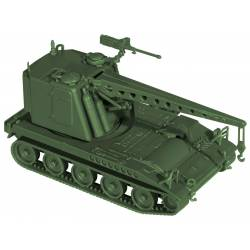 M578 armored recovery vehicle.