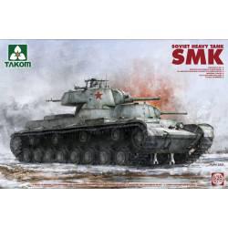 Carro pesado soviético SMK.