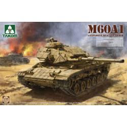 M60A1 con blindaje reactivo.